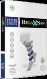 RelaxSan katoen compressiekousen 140 denier Unisex_