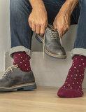 RelaxSan Fancy Socks steunkousen Ruby Red