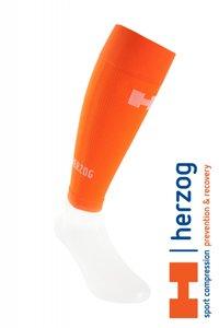 Herzog Pro Sportcompressietubes oranje