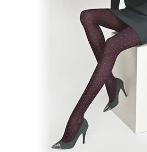 Solidea Fashion Panty met stippen 70 denier opaque