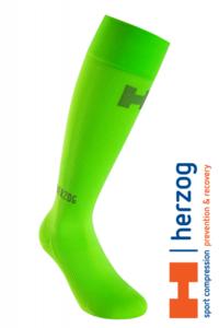 Herzog Pro Sport Compressiekousen groen