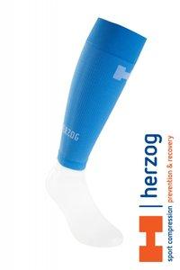 Herzog Pro Sportcompressietubes lichtblauw