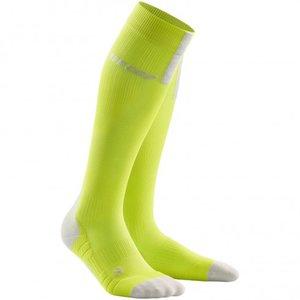 CEP Pro Run 3.0 Lime/LightGrey sportcompressiekousen