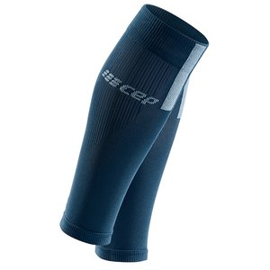 CEP Calf Sleeves 3.0 Compressietubes blue/grey