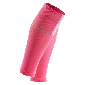 CEP Calf Sleeves 3.0 Compressietubes rose/grey
